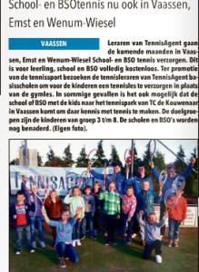 school en BSOtennis